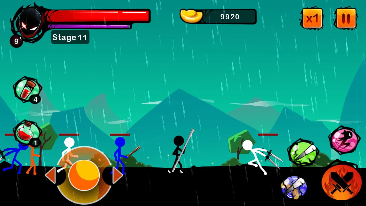 Stickman Ghost Ninja, un sencillo y adictivo juego de acción