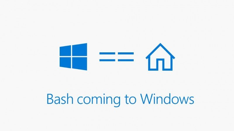 Bash de Linux llegará pronto a Windows 10