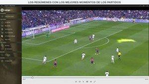 LaLiga TV, una nueva app para los amantes del fútbol llega a Windows 10