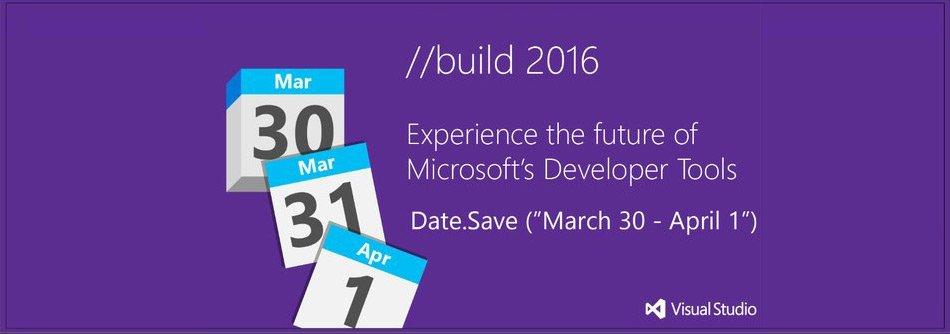 //Build 2016