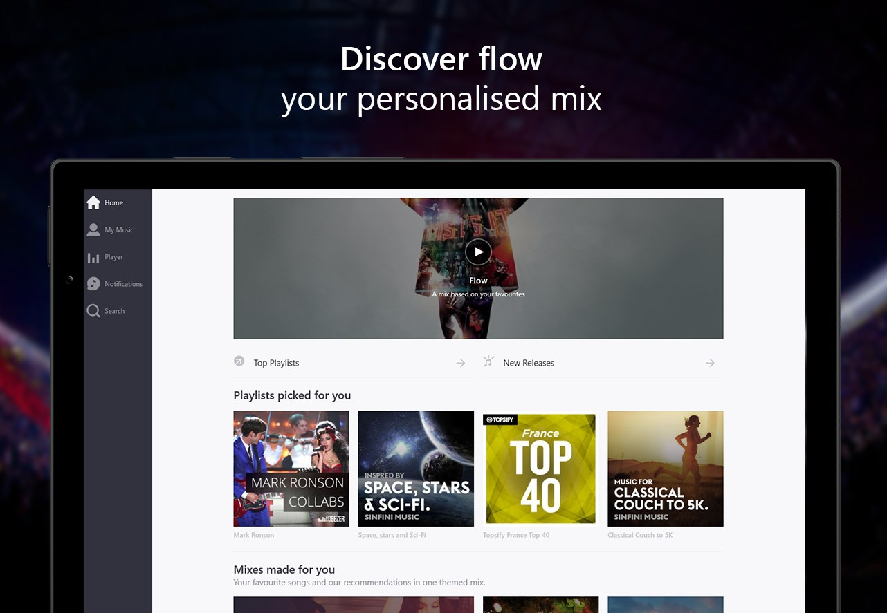 deezer windows 10 beta