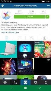 Instagram (Beta) para Windows 10 Mobile ya se puede descargar [Actualizado con vídeo]
