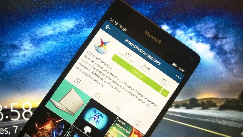 instagram beta windows 10 mobile