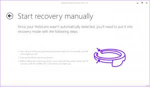 Windows Device Recovery Tool ya soporta las Microsoft HoloLens y Clicker