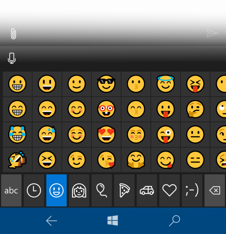 Build 14322 emojis