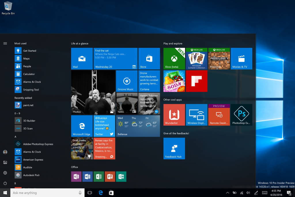 Build 14328 for PC 2