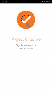 Cheshire Project mobile