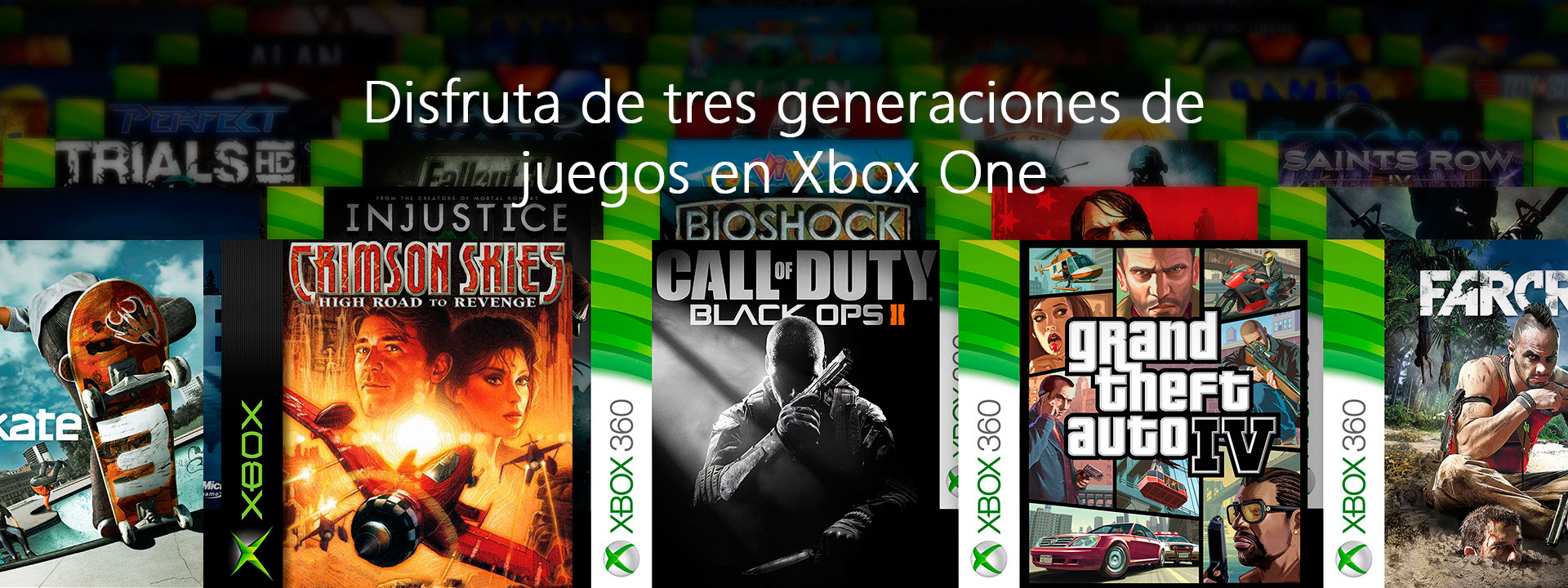 Juegos retrocompatibles de Xbox 360 y la Xbox Original para Xbox One