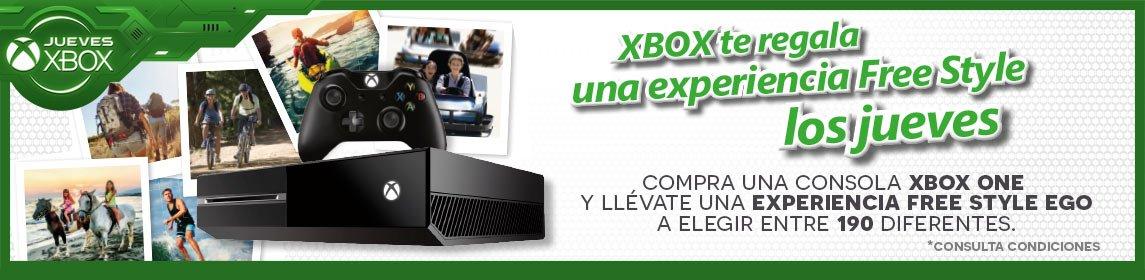 Free Style con los Jueves Xbox