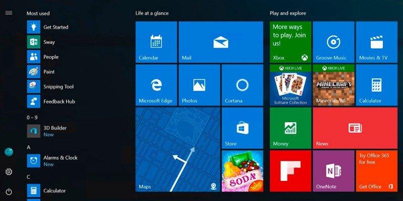 Nuevo-menú-inicio-Windows-10-PC