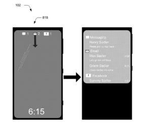 Microsoft patenta las notificaciones enriquecidas para la pantalla de bloqueo