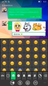 Telegram-Messenger-1.24-Bots-2.0-usando-sticker