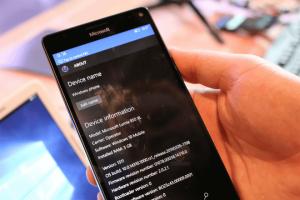 Windows 10 Mobile Build 14310 se muestra en imágenes y desvela pequeñas novedades