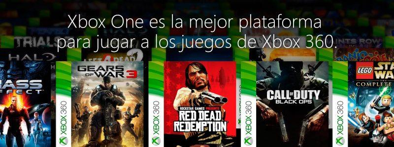 Listado de juegos retrocompatibles Xbox