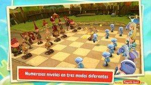 Toon Clash CHESS, un ajedrez diferente y divertido gratis por tiempo limitado