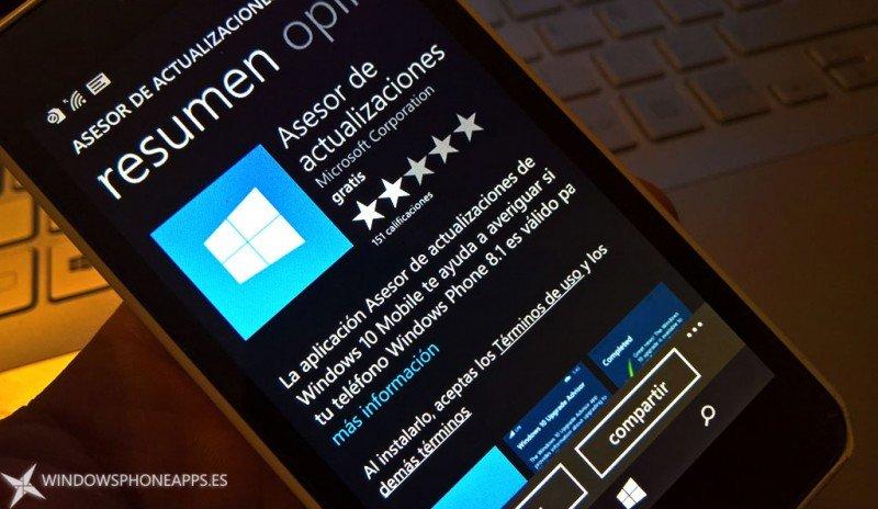 Microsoft elimina el Asesor de Actualizaciones de la Tienda de Windows 10