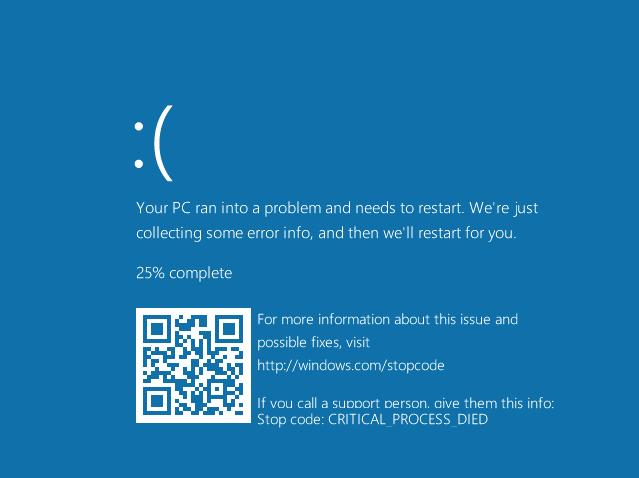 BSOD en Windows 10
