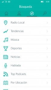 TuneIn Radio ya funciona correctamente en Windows 10 Mobile