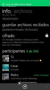 WhatsApp inicia la implementación del cifrado de mensajes de extremo a extremo