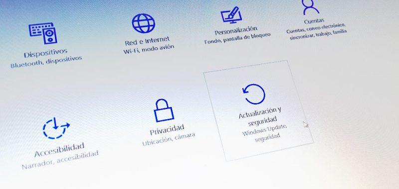 Windows 10 Actualizacion