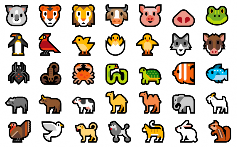 windows-10-animal-emojis