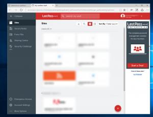 LastPass, otra extensión que ya está disponible para Microsoft Edge