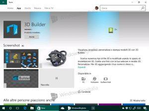 3D Builder luce un nuevo aspecto y nuevas funciones en la Build 14342