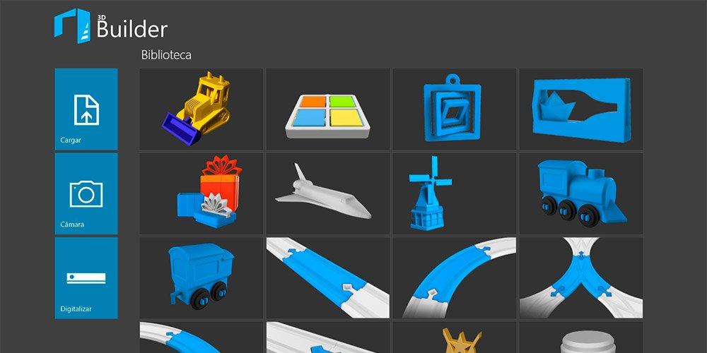 3d Builder Luce Un Nuevo Aspecto Y Nuevas Funciones En La
