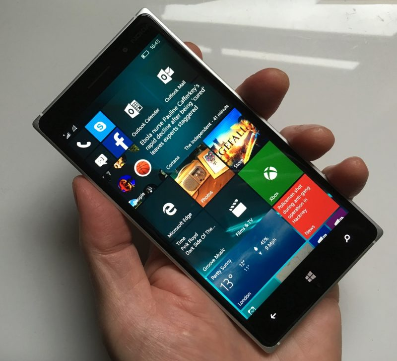 Lumia Icon Windows 10