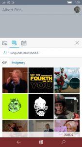GroupMe añade GIF animados y búsqueda para animar nuestros mensajes