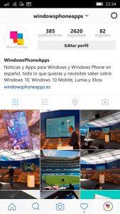 Instagram modifica remotamente la interfaz de usuario de su aplicación para Windows