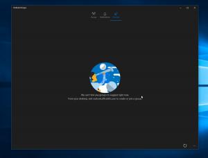 Nuevas imágenes de la aplicación universal de Outlook Groups en Windows 10 PC