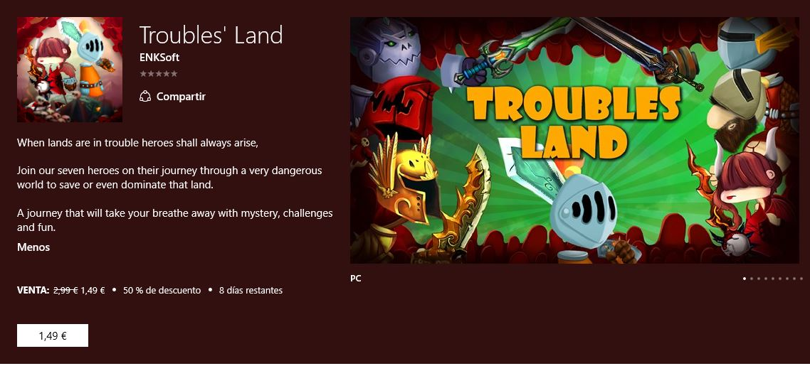 Troubles' Land