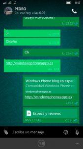 WhatsApp se actualiza con cambios de interfaz en los chats y mucho más