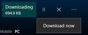 detalles tres puntos descarga de aplicacion tienda de windows 10 nueva