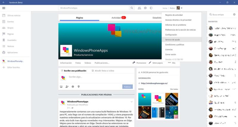 facebook-beta-pc