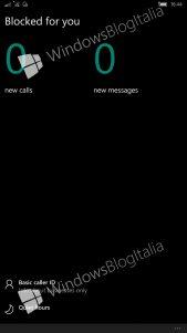 Así será la nueva aplicación de Bloqueo y filtro para Windows 10 Mobile