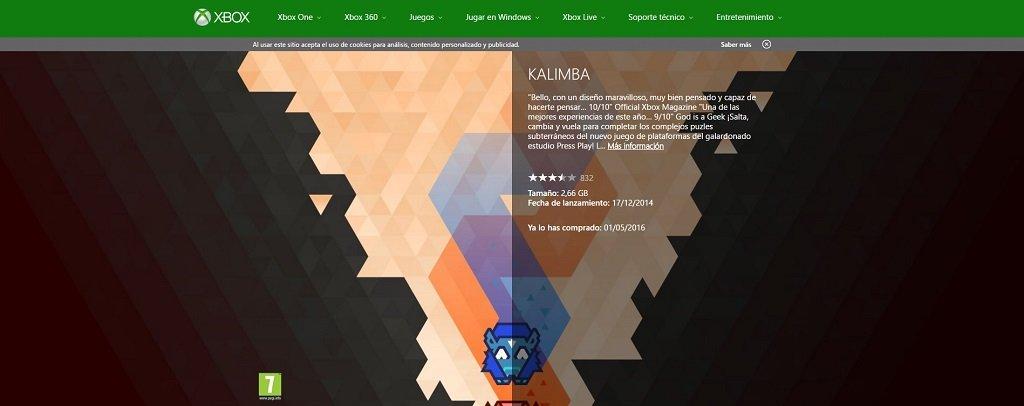 Descarga Kalimba Para Xbox One Gratis