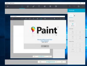 Así se ve la próxima versión de Paint para Windows 10