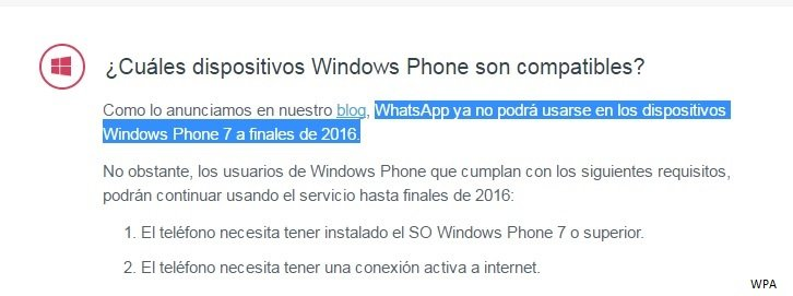 whatsapp wp7