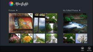Afterlight se actualiza rediseñándose para Windows 10