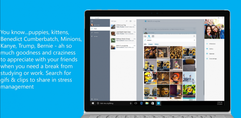 Groupme Windows 10 pc