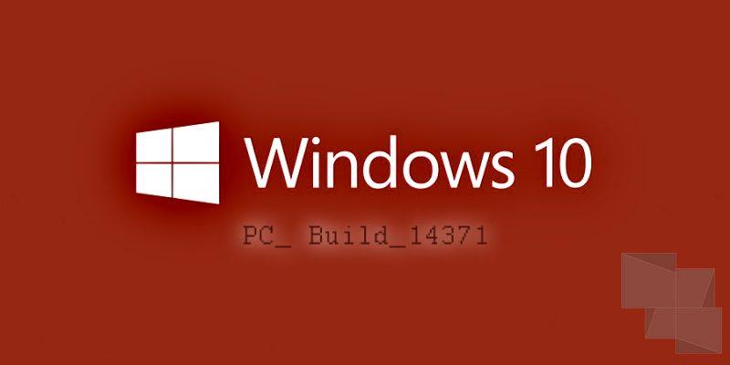 Diseño Builds Windows 10 pc 14371