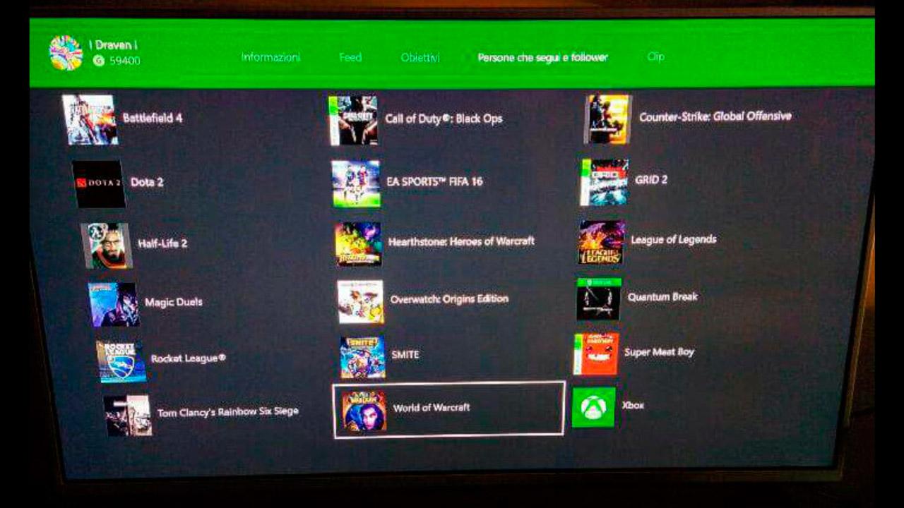 World of Warcraft, League of Legends y Hearthstone: Heroes of Warcraft en Xbox One