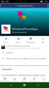 Facebook Inc. ya ofrece su propia aplicación Facebook Beta en Windows 10 Mobile