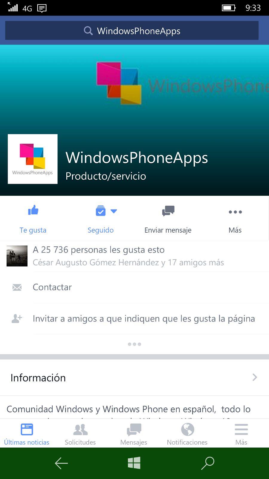 ¿Cual es la situación actual de las redes sociales en la plataforma Windows?