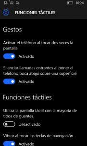 Funciones táctiles se actualiza añadiendo un nuevo gesto