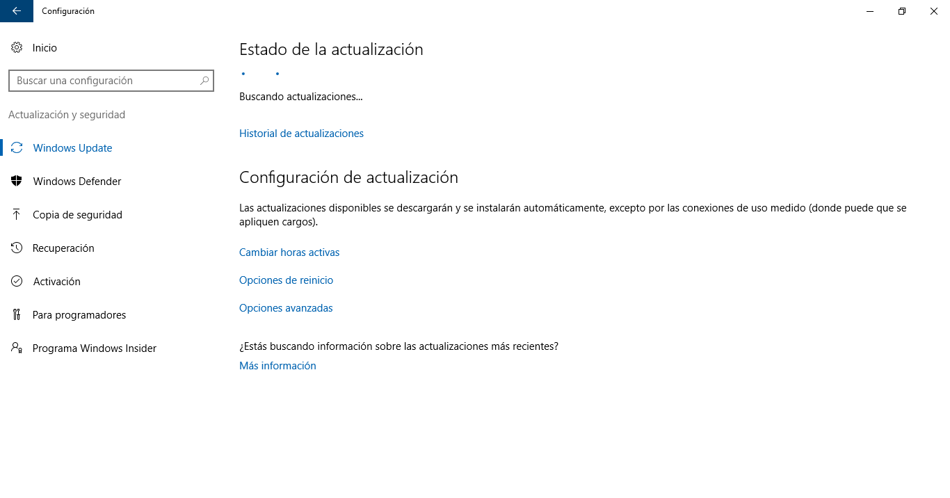 Build actualizaciones