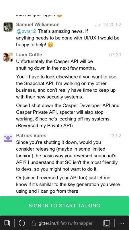 Casper API