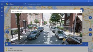 Maps App Discovery street view